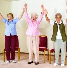 senior strength and balance training